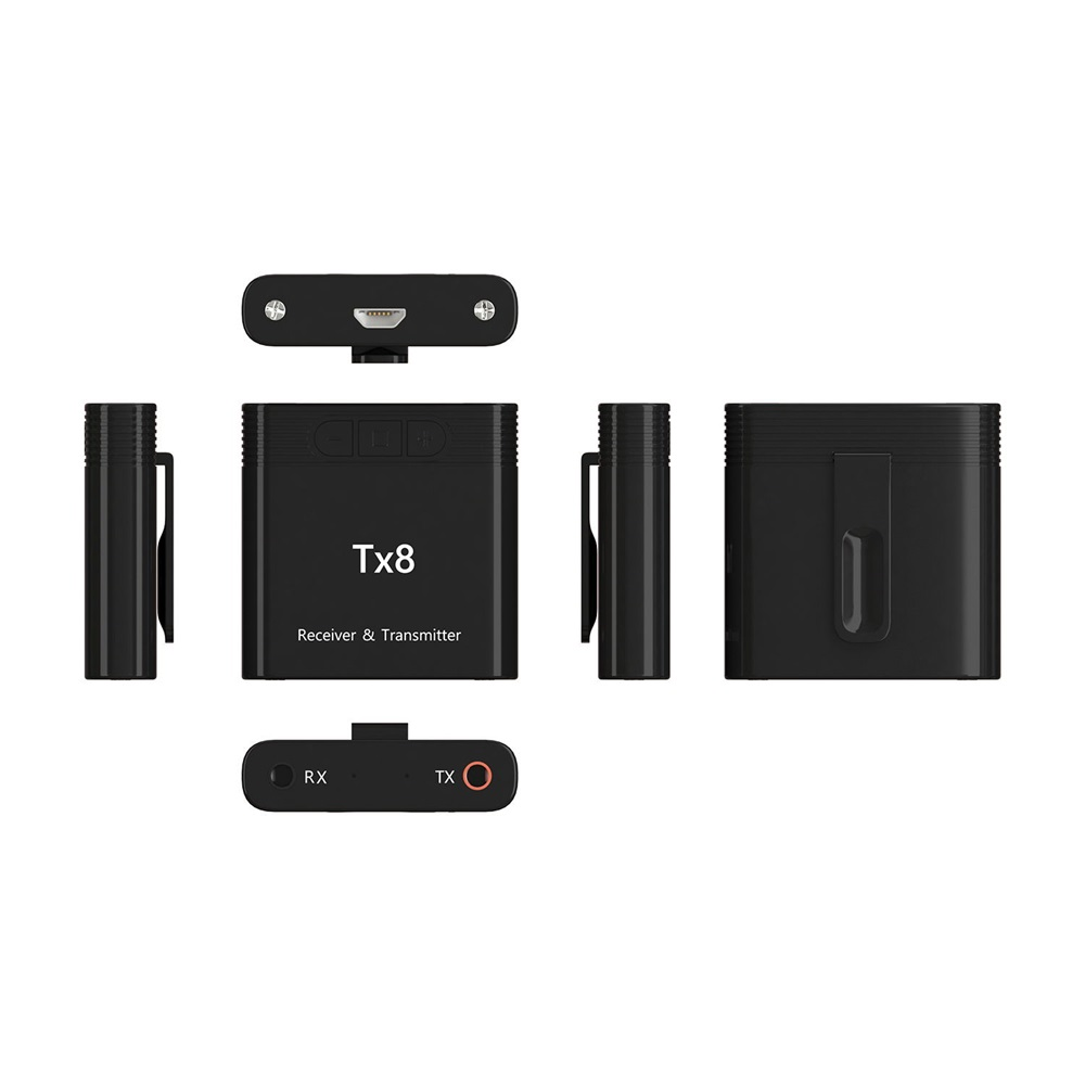 new tx8 bluetooth 5.0 audio transmitter receiver 2019