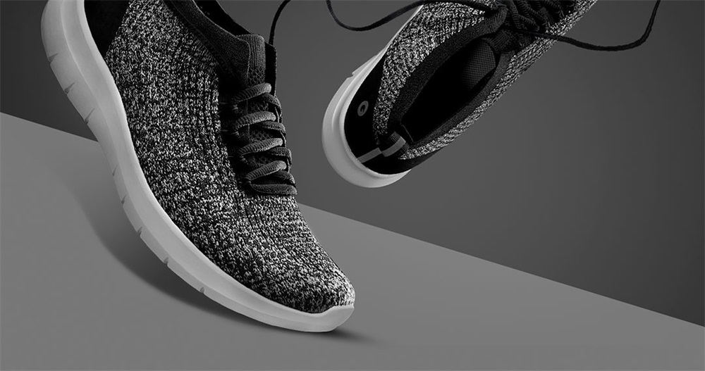 buy xiaomi amazfit one-piece woven upper running shoes