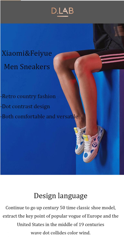 buy xiaomi feiyue men sneakers