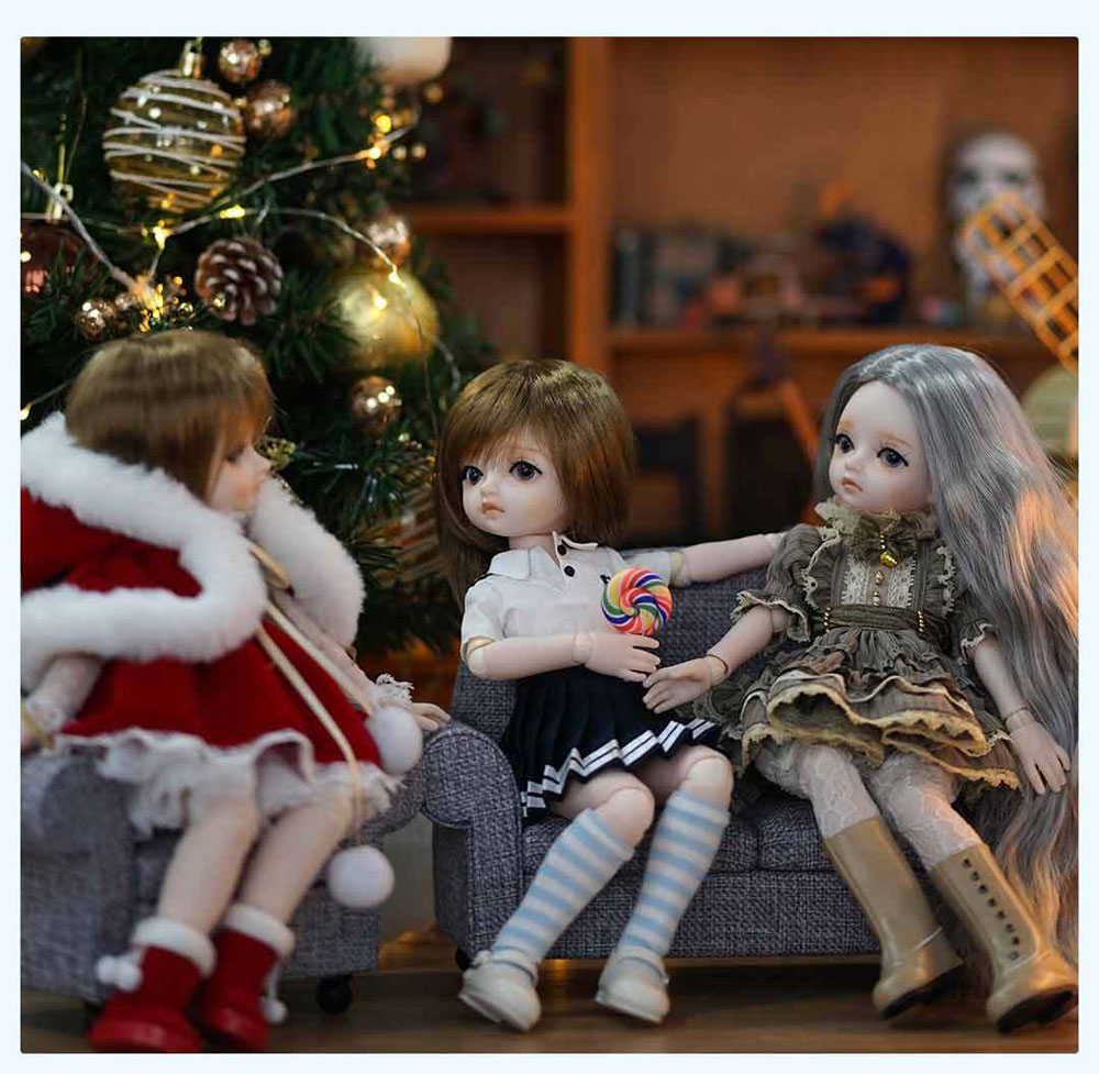 new xiaomi youpin monst simulation cute bjd doll toy