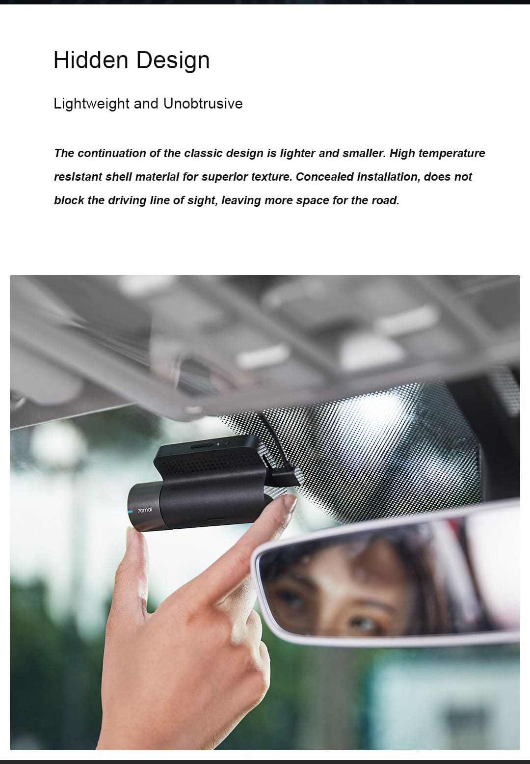 2019 70mai smart dash cam 2