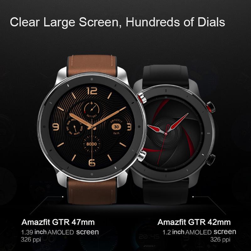 huami amazfit gtr smartwatch