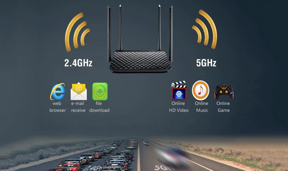 ASUS RT-AC1200GU Smart WiFi Router