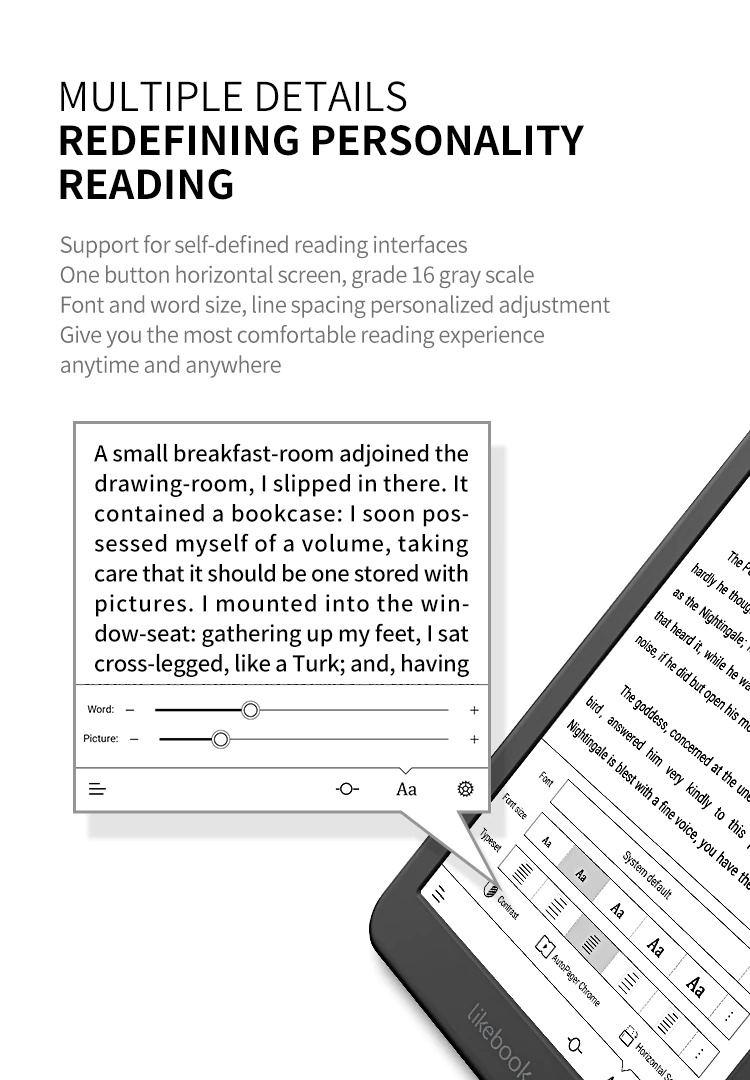 likebook mars t80d e-reader