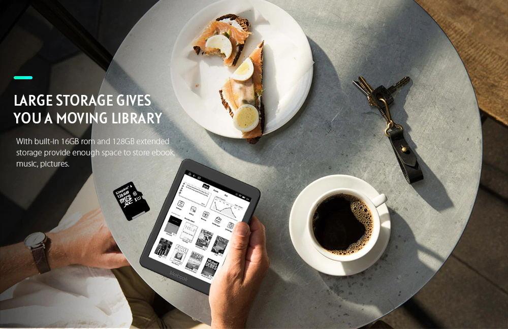 hotsale boyue likebook mars t80d e-book reader