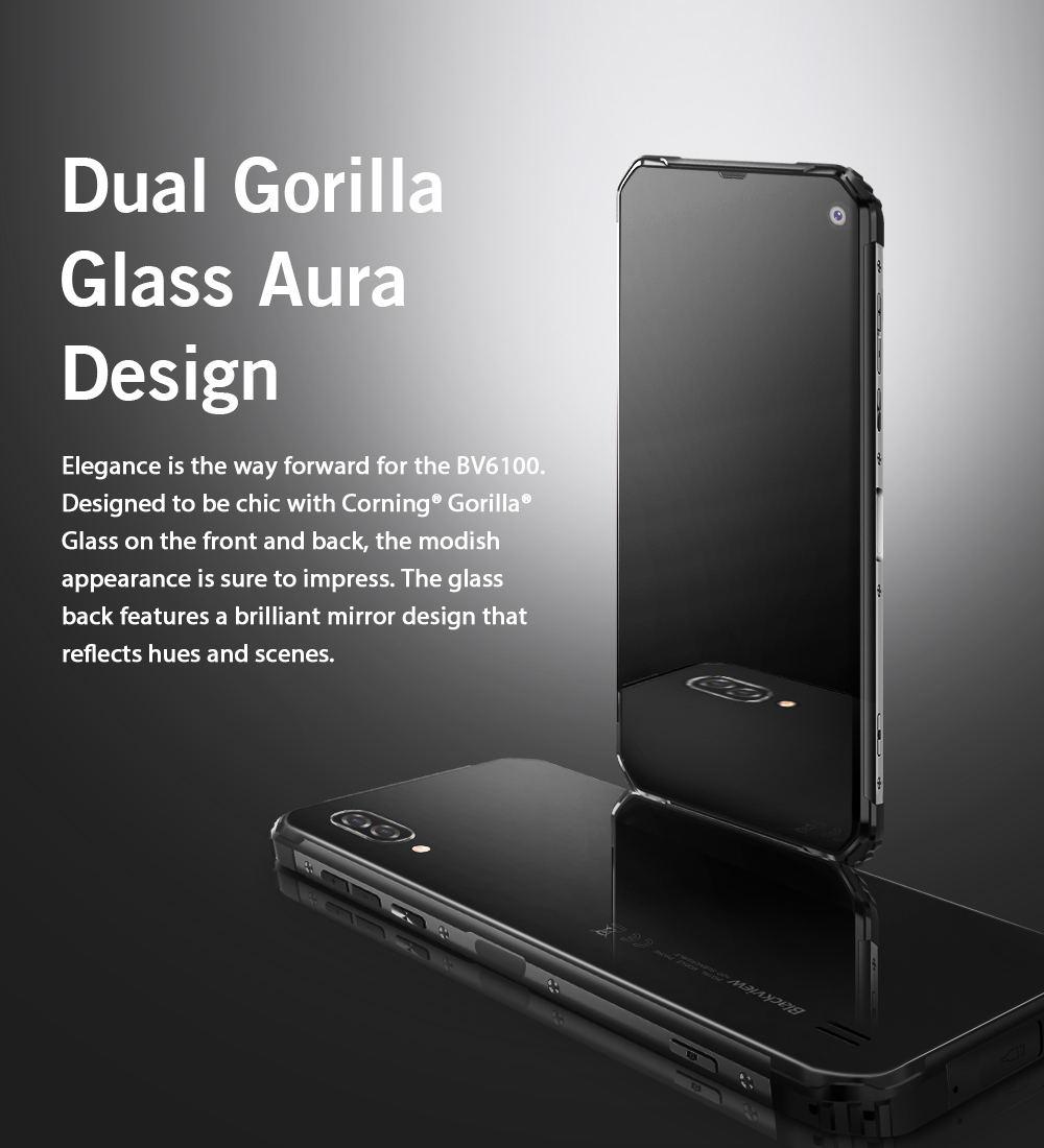 new blackview bv6100 4g smartphone