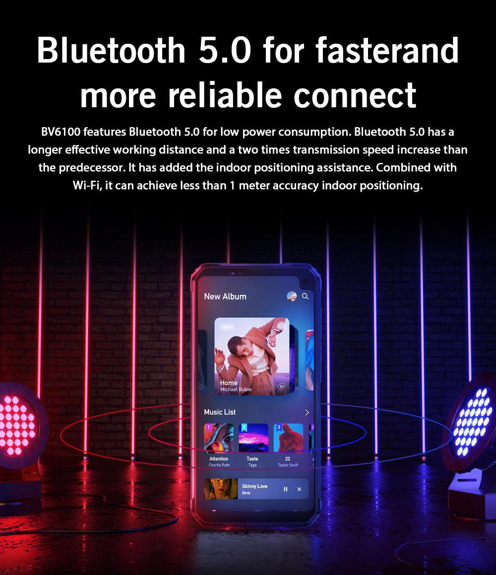 buy blackview bv6100 4g smartphone 3gb/16gb