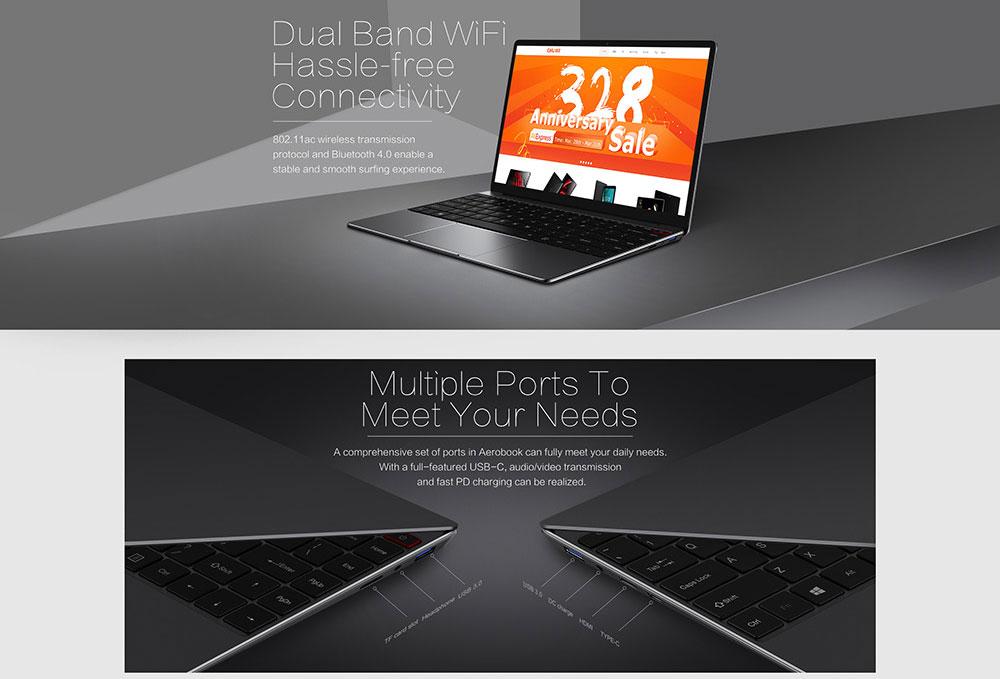 chuwi aerobook laptop 8gb 256gb for sale