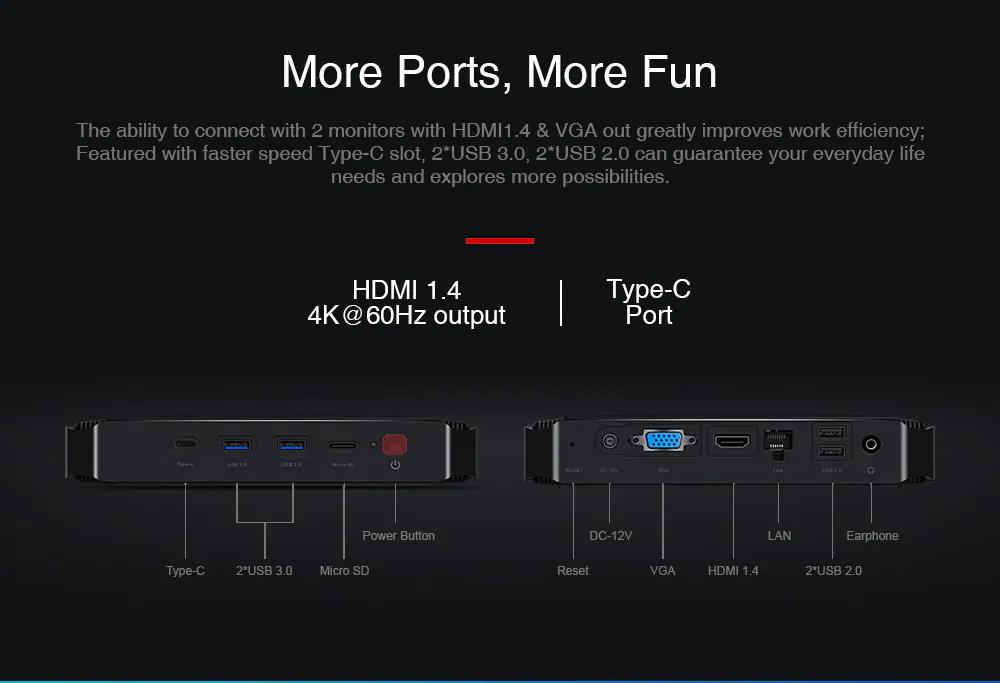 new chuwi gbox pro mini pc 64gb