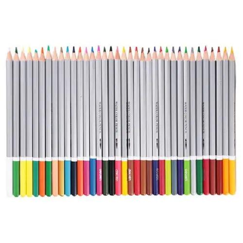 deli 36pcs water soluble color pencil