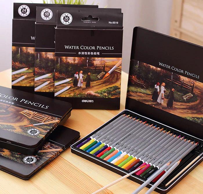 new deli 36pcs color pencil
