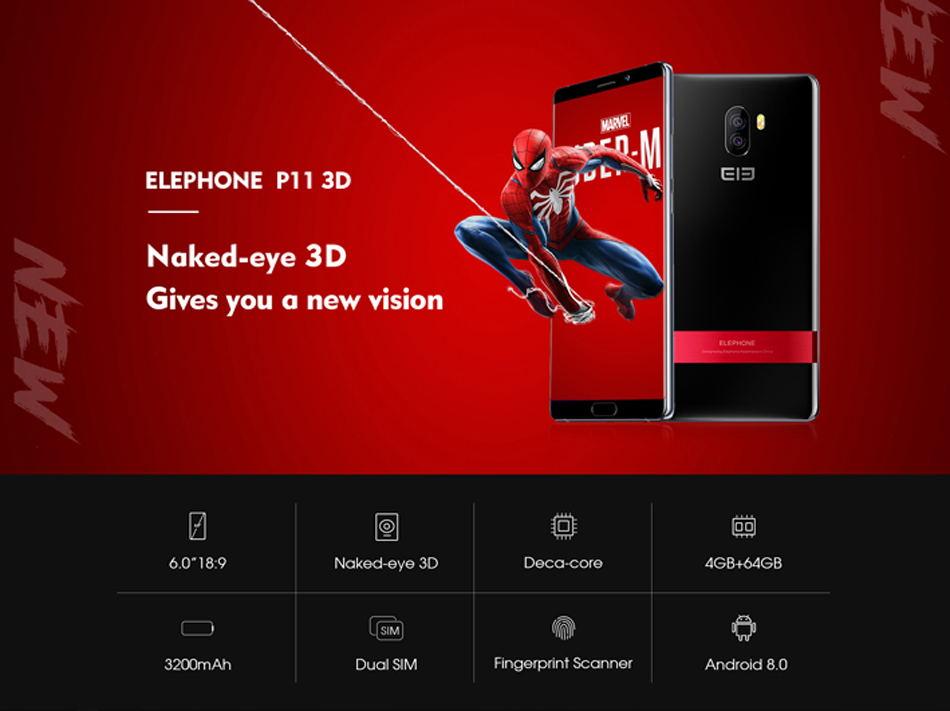 elephone p11 3d smartphone