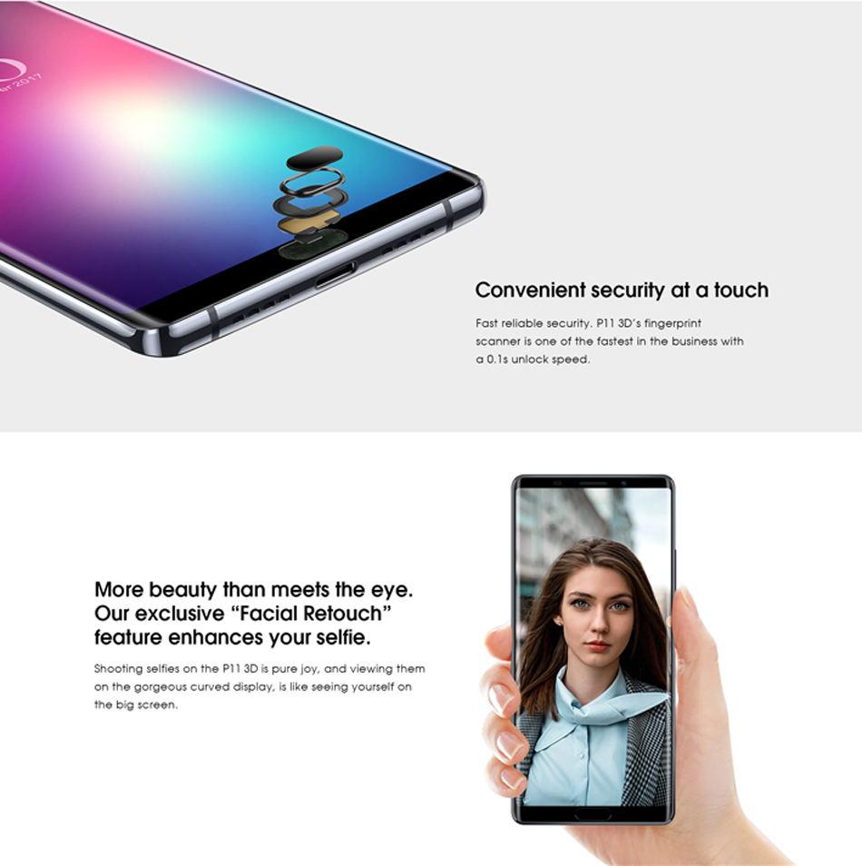 cheap elephone p11 3d smartphone