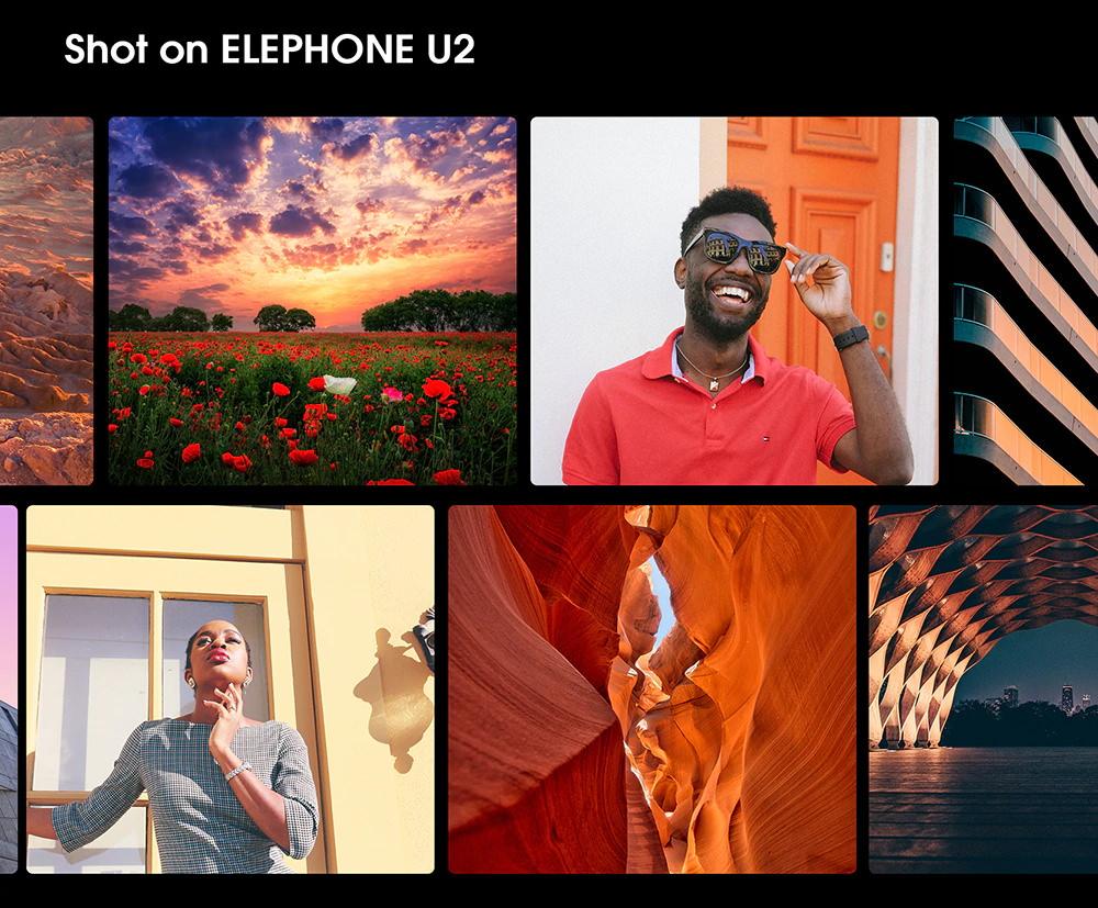 new elephone u2 6.26inch smartphone