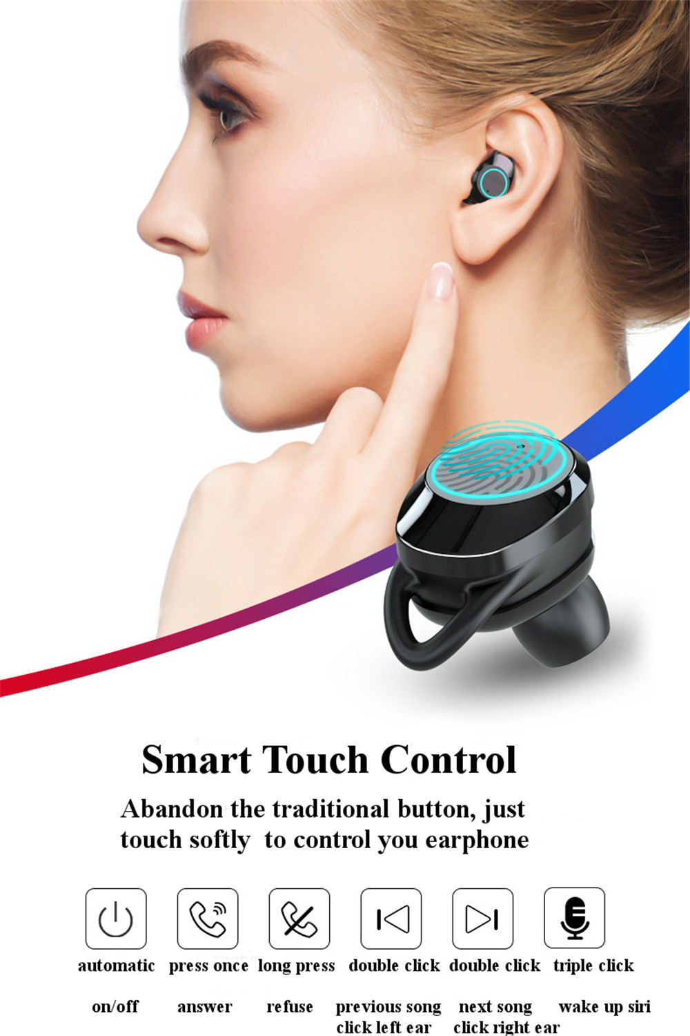 g02 tws bluetooth earphone for sale