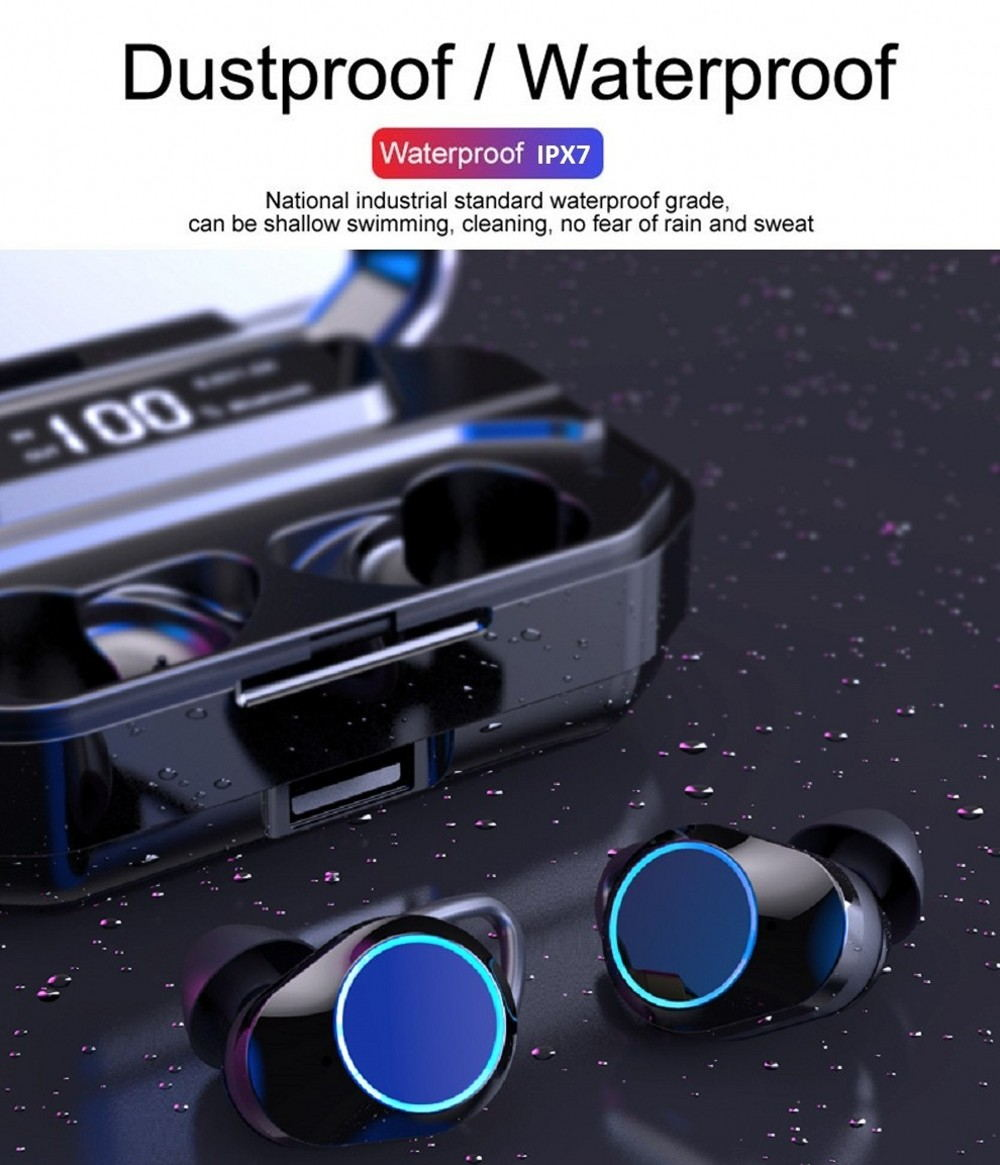 2019 g02 tws bluetooth earphone