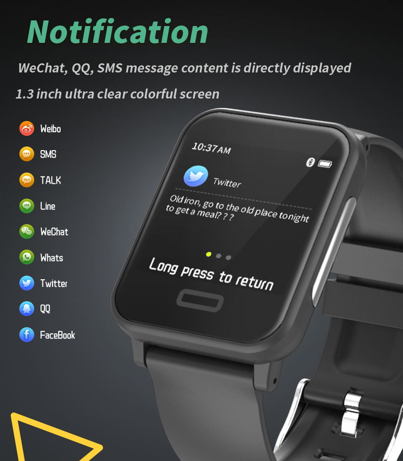 2019 gmove e33 smartwatch