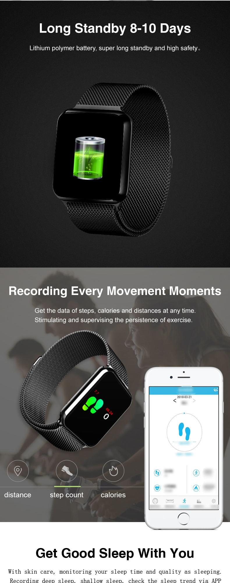 new gmove gs08 sports smartwatch