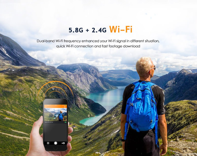 gitup f1 4k sports wifi camera price