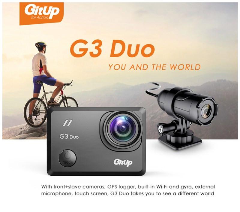 gitup g3 duo action camera