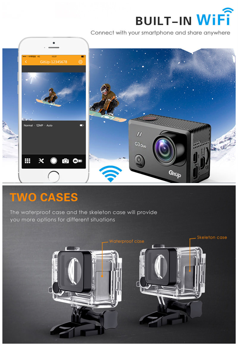 review gitup g3 duo action camera
