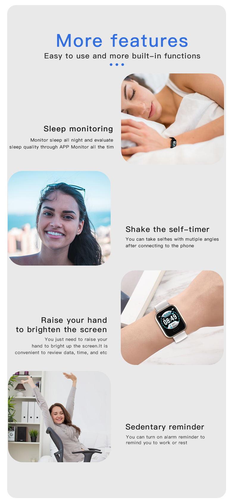 gmove p30 smartwatch for sale