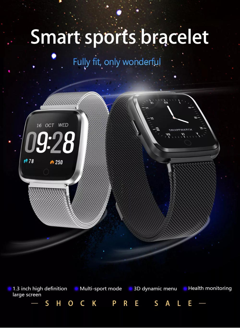 goral y7 bluetooth smartwatch