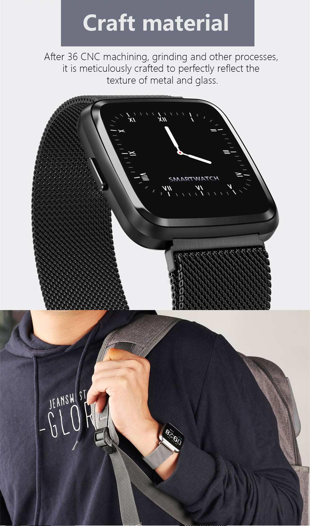 new goral y7 bluetooth smartwatch
