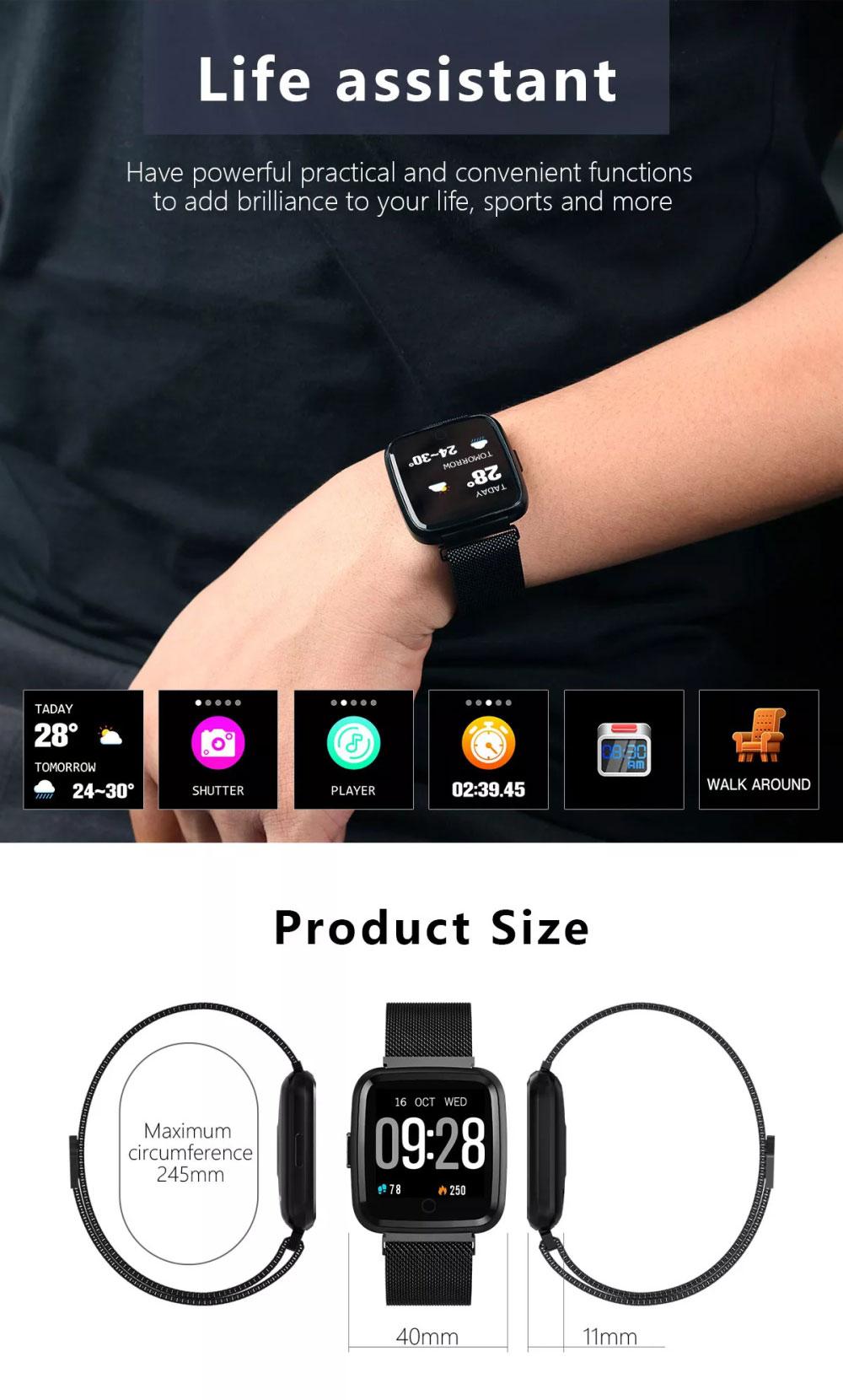 goral y7 sports smartwatch for sale