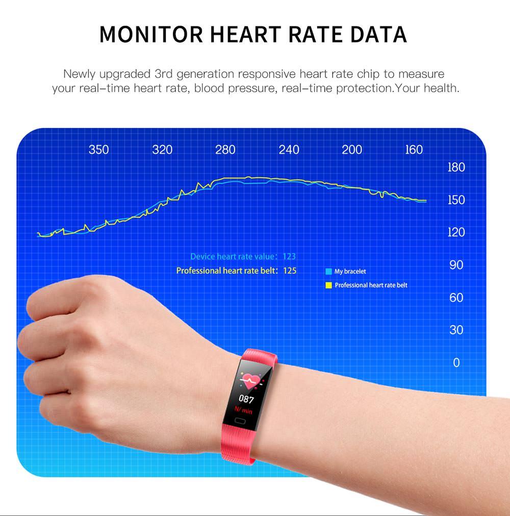 2019 goral z6 sport smart bracelet