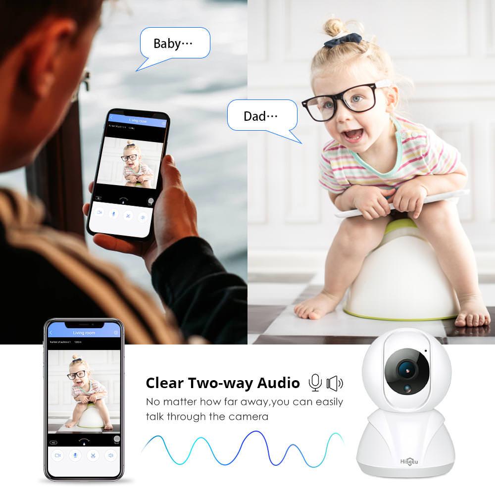 buy hiseeu fh3a wifi home security ip camera