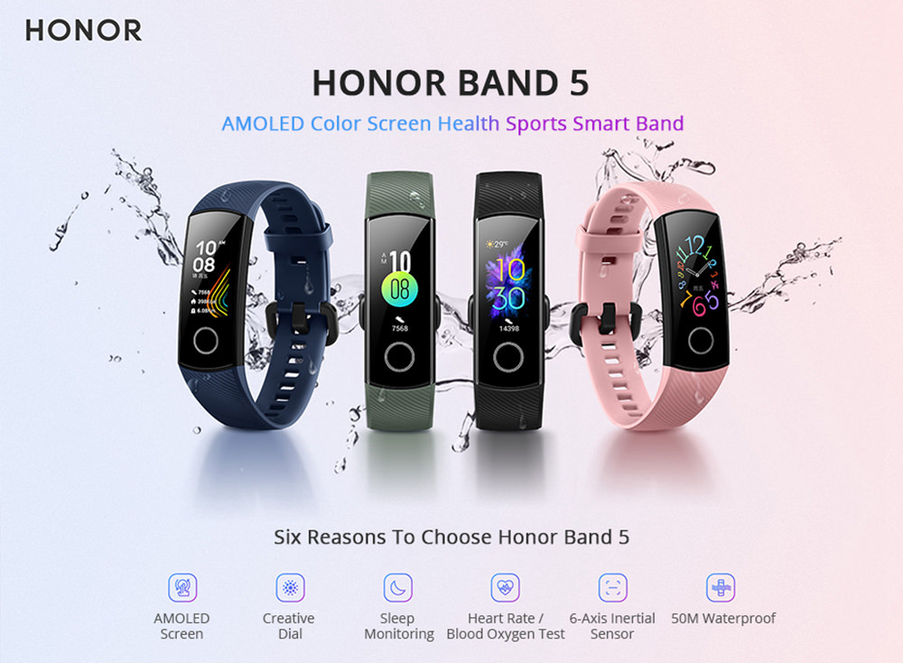 Image result for huawei honor band 5