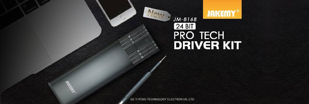 review jakemy jm-8168 magnetic screwdriver