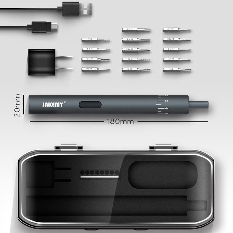 new jakemy jm-y02 electric screwdriver set