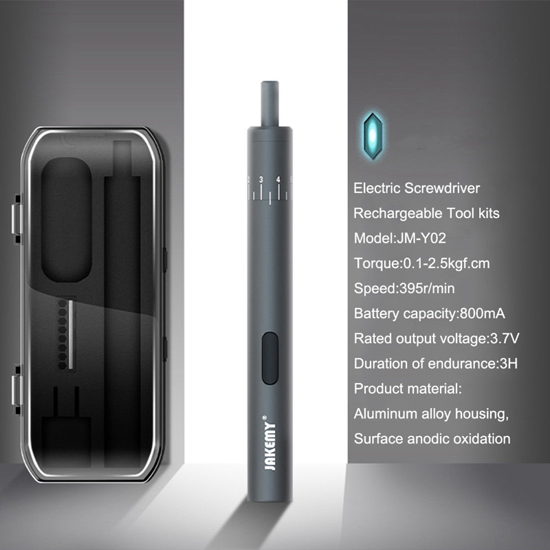 buy jakemy jm-y02 electric screwdriver set