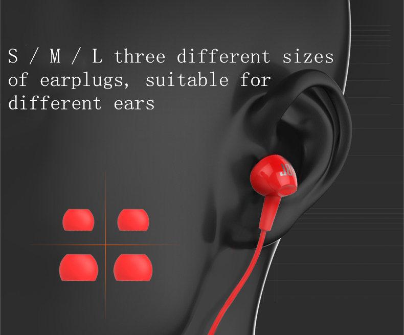 review jbl c100si earphone