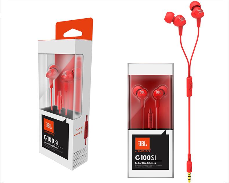 jbl c100si in-line earphone 2019