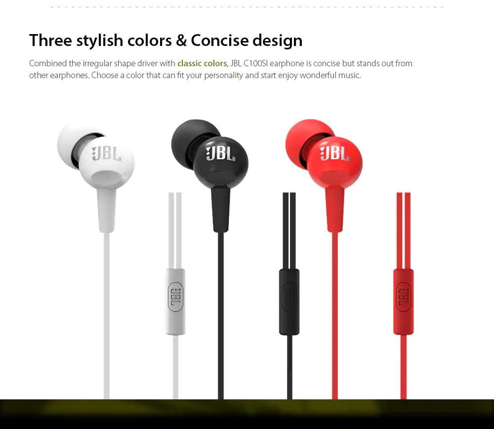 jbl c100si earphone review