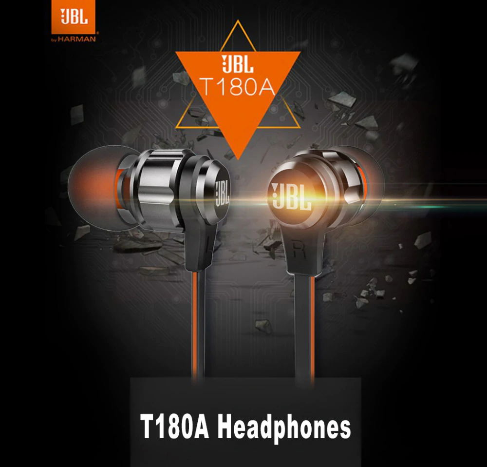 jbl t180a earphones