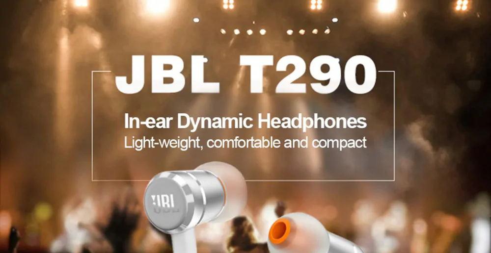 jbl t290 stereo earphone