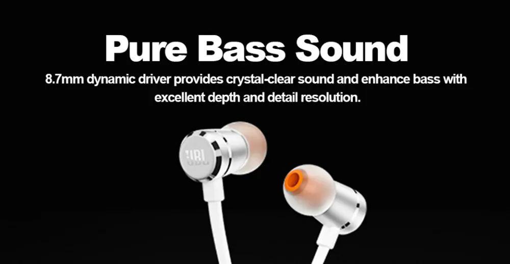 new jbl t290 earphone