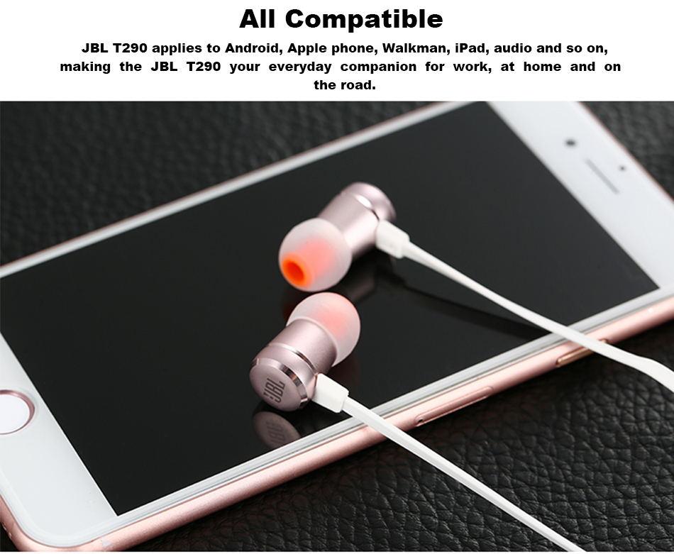 jbl t290 earphone price
