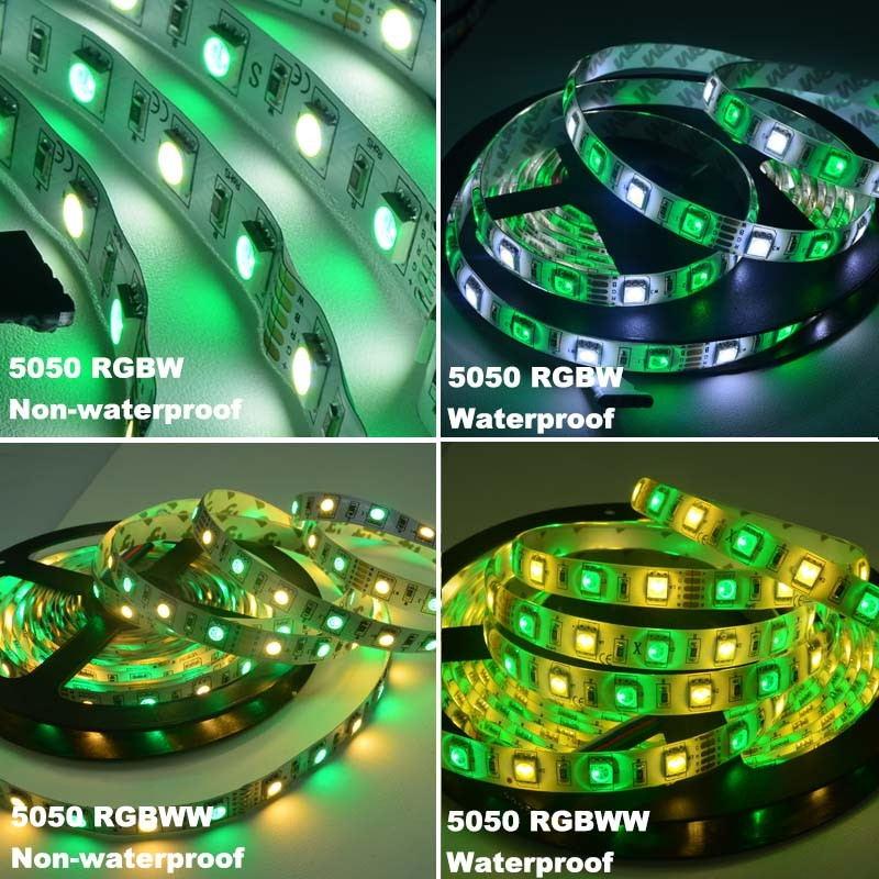 2019 jiawen 5m 5050 rgbw led strip lights set