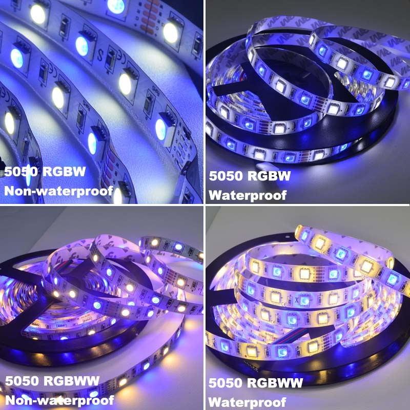 cheap jiawen 5m 5050 rgbw led strip lights set