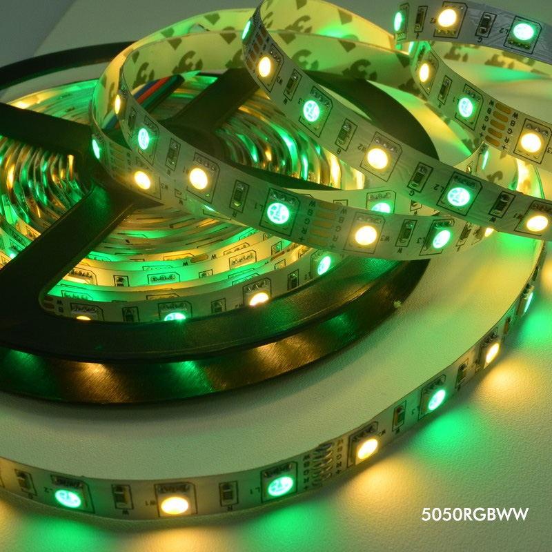 2019 jiawen 5m 5050 rgbw light strip set