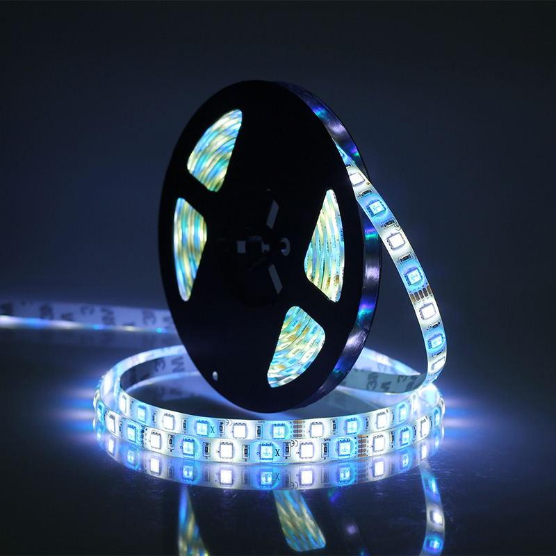 jiawen 5m 5050 rgbw led strip lights set