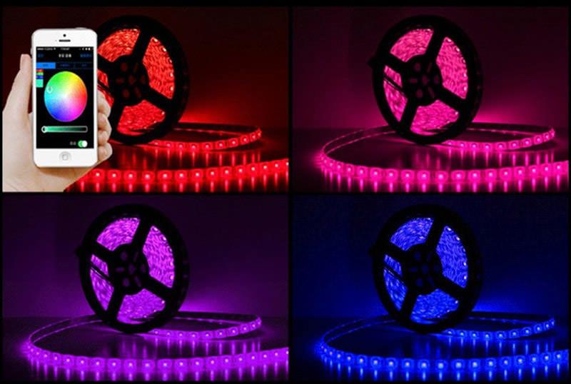 new jiawen 5m led strip light kit