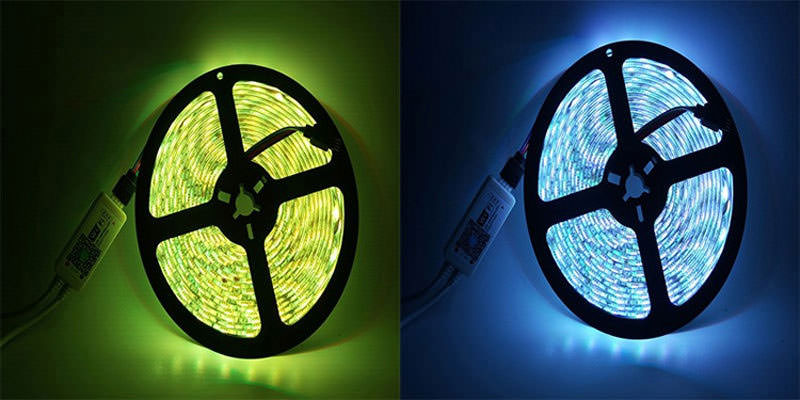 jiawen 5m wi-fi led strip light kit price