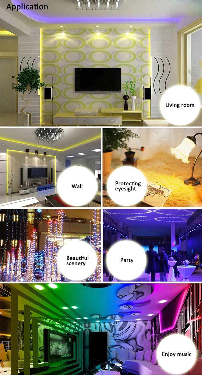 jiawen 5m wi-fi led strip light kit 2019