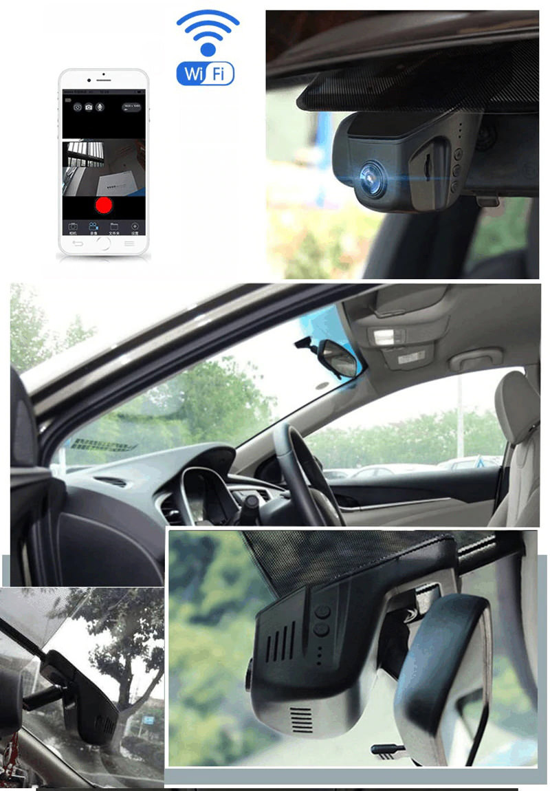 buy junsun s100 wifi 1080p car dvr camera